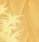 Wooden palms Royalty Free Stock Images