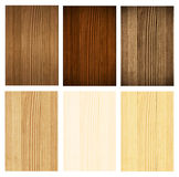 Wooden panel, collection Royalty Free Stock Image