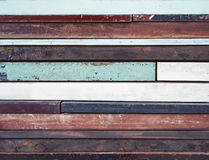 Wooden panel colorful craft background Stock Photo