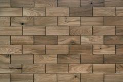 Wooden panel is handmade. Beautiful wall decoration stock image
