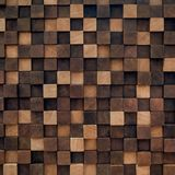 Wooden panel is handmade. Beautiful wall decoration royalty free stock photo
