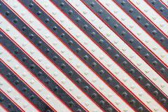 Wooden panel with a slanting striped pattern Royalty Free Stock Photos