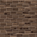 Wooden paneling for seamless background Royalty Free Stock Photos