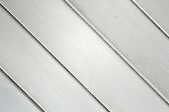 Wooden Panelling. This photo shows a close-up of some old wooden white panelling in a 300+ year old house Stock Photo