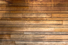 Wooden Panelling. On outside of building Royalty Free Stock Images