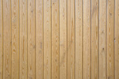 Wooden Panels. Wooden Panelling of a New Garden Fence Stock Images