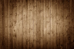 Wooden Panels. Dark brown wooden Panels used as background Stock Photography