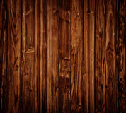Wooden Panels. Dark brown wooden Panels used as background Stock Images