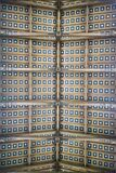 Wooden panels on ceiling of Church of Peace in Potsdam Royalty Free Stock Photo