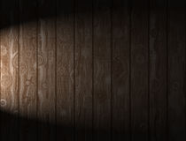 Wooden Panels. Illuminated wooden panels background and texture for print or web usage Royalty Free Stock Image