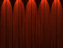 Wooden Panels. Illuminated wooden panels background and texture for print or web usage Stock Image