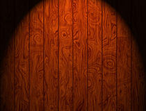 Wooden Panels. Illuminated wooden panels background and texture for print or web usage Stock Photos
