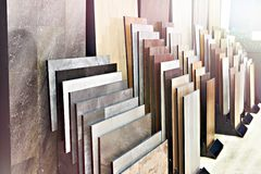 Free Wooden Panels On Floor And Walls In Store Stock Photography - 145285532