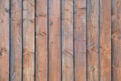 Wooden Panels View. Stained Wooden Fence Panels Background Stock Images