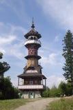 Wooden panorama-tower Stock Photos