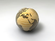 Wooden paperweight Royalty Free Stock Photo