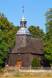 Wooden parish church Stock Photography