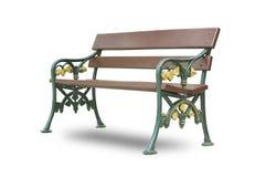 Wooden park bench Royalty Free Stock Photos