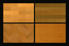 Wooden Parquet. Set 1 Vector Drawing Royalty Free Illustration