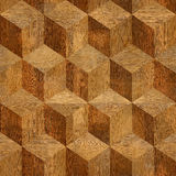Wooden parquet blocks rosewood. Stacked for seamless background Stock Photos