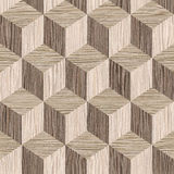 Wooden parquet blocks - seamless background - Blasted Oak Groove Royalty Free Stock Photo
