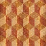 Wooden parquet blocks - seamless background - Carpathian Elm Royalty Free Stock Photography