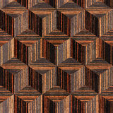 Wooden parquet blocks - seamless background - Ebony wood Stock Photography