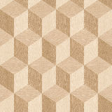 Wooden parquet blocks - seamless background - White Oak wood royalty free illustration