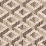 Wooden parquet Decoration - seamless background - Blasted Oak Royalty Free Stock Image