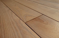 Wooden parquet floor Royalty Free Stock Images