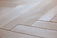 Wooden parquet floor Royalty Free Stock Photography