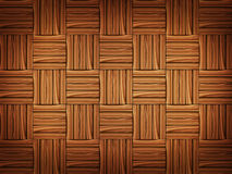 Wooden parquet Stock Image