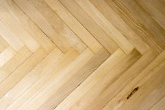Wooden parquet floor simplicity background. Natural material, wood, regular patterns Stock Images