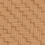 Wooden parquet floor - vector seamless texture Stock Photo