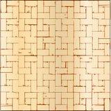 Wooden Parquet Flooring Stock Photo