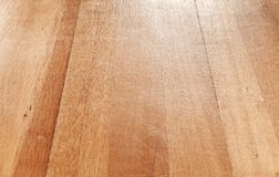 Wooden parquet flooring perspective Stock Photo