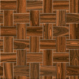 Wooden parquet, laminate flooring Royalty Free Stock Photos