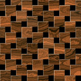 Wooden parquet, laminate flooring. For seamless background Stock Photos