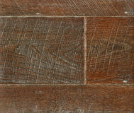 Wooden parquet in warm tones, close-up. Dark wood texture. Wooden parquet. The brown old wood texture. Wood texture plank grain background, wooden desk table or Royalty Free Stock Photos