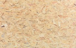 Wooden particle board for background. Close up view with details stock photo