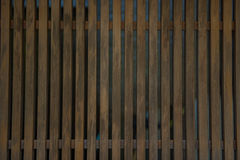 Wooden partition Royalty Free Stock Photo