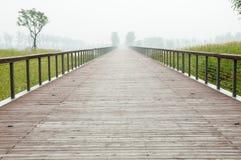 Wooden path Stock Photos