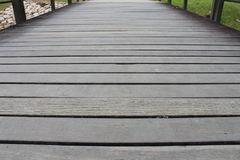 Wooden Path royalty free stock photos