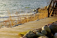 Wooden path Stock Photography