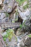 Rosengarten gorge Royalty Free Stock Image