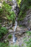 Rosengarten gorge Stock Image