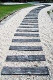 Wooden path walkway Royalty Free Stock Photos