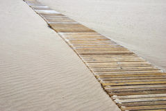 Wooden pathway Royalty Free Stock Photo