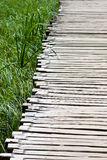 Wooden pathway Royalty Free Stock Photos