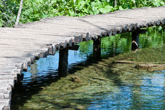 Wooden pathway Royalty Free Stock Photography